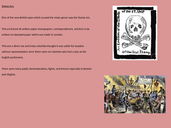 Sons of Liberty - Power Point Full History Facts Information Pictures Sam Adams