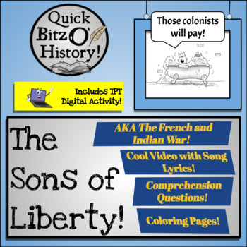 Sons of Liberty Video (French and Indian War)