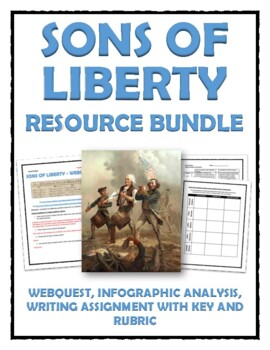 Sons of Liberty - Webquest, Infographic Analysis and Journ
