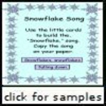 Sonwflake Song