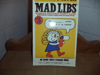 Madlibs: Sooper Dooper ISBN 0-8431-0057-5