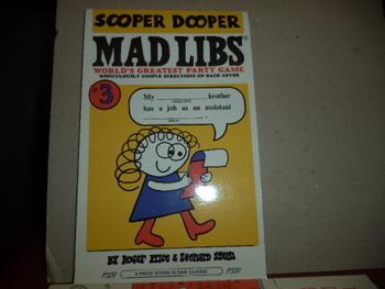 Sooper Dooper Mad Libs ISBN 0-8431-0057-5