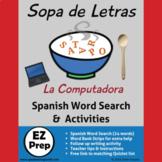 Sopa de Letras * La Computadora y la Tecnología * Spanish