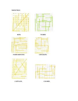 Sopa de Letras  Word Find Puzzles