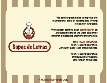 Sopa de Letras by The Learning Toolbox