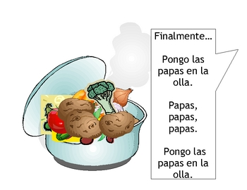 """Sopa de Vegetales"" Original Story in Spanish"