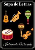 Sopa de letras/ Instrumentos musicales