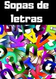 Sopa de letras/ Wordsearch in Spanish