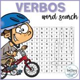 Sopa de letras de verbos - Verbs Word Search in Spanish