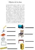 Sopa de letras objetos de la clase/ Word search objects of