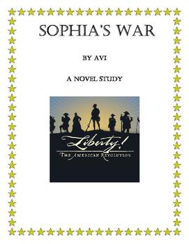 Sophia's War - a novel study