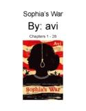 Sophia's War Complete Lesson Plan Bundle
