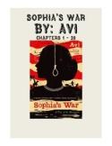 Sophia's War Lesson Plan - Part 1 (Chapters 1 - 28)