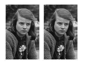 Sophie Scholl Comic Strip and Storyboard