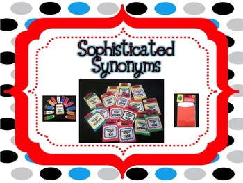 sophisticated synonyms list