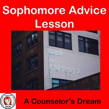 Sophomore Advice Video and Worksheet Lesson