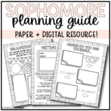 Sophomore Year Planning Guide