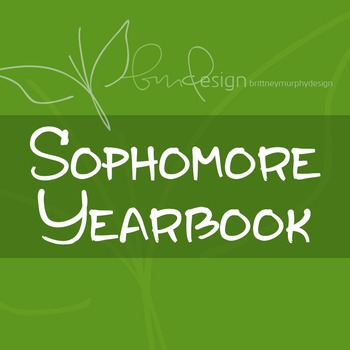 Sophomore Yearbook Font for Commercial Use