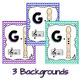 Soprano Recorder Fingering Chart Posters - Glitter & Chevrons