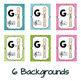 Soprano Recorder Fingering Chart Posters - Teal & Blooms