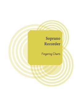 Soprano Recorder Fingering Charts