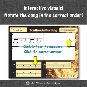 Soprano Recorder - Scotland's Burning (Notes DGABD)
