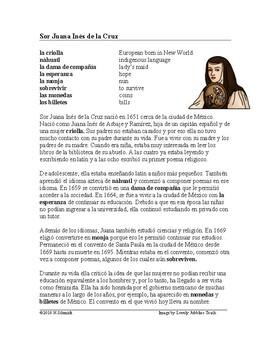 Sor Juana Inés de la Cruz Biografía: Biography of a Famous Nun, Poet & Feminist