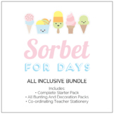 Sorbet For Days Classroom Decor - All Inclusive Pack (The Lot!)