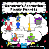 Sorcerer's Apprentice Finger Puppets (for listening activity)
