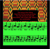 Sorrida~ Traditional African Song~ do-mi-so~ Instruments~