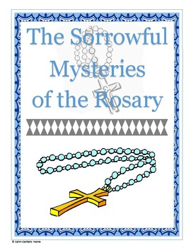 Sorrowful Mysteries of the Rosary Packet