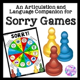 Sorry Articulation & Language Game Companion