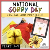 National Sorry Day - Reconciliation Activity Pack Year 3 & 4 (Distance Learning)