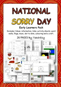 Sorry Day Australia Early Learners Pack