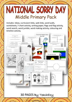 Sorry Day Australia Middle Primary Pack