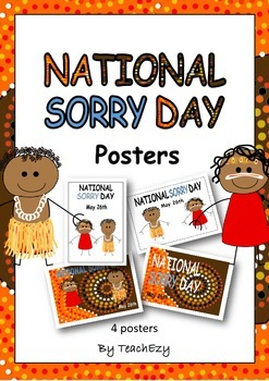 Sorry Day Australia Posters