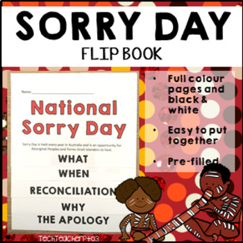 Sorry Day Flip Book