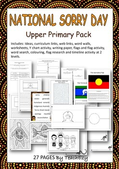 Sorry Day Australia Upper Primary Pack
