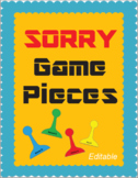Sorry Game-board Pieces
