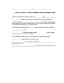 Sorry, Mr. Dewey! Student Worksheet to Accompany PowerPoint