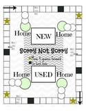 """""""Sorry Not Sorry"""" Game Board"""