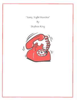 Sorry, Right Number by Steven King