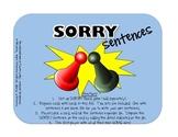 Sorry Sentences:  Adding Details