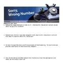 Sorry, Wrong Number, Comprehensive Study Guide