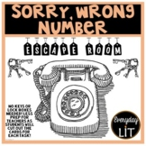 Sorry, Wrong Number Escape Room