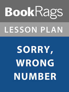 Sorry, Wrong Number Lesson Plans