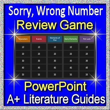 Sorry, Wrong Number Review Game
