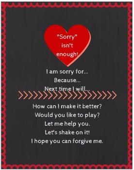 Sorry isn't Enough