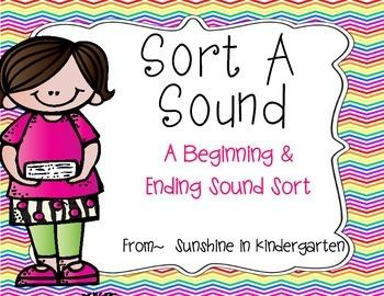 Sort A Sound {A Beginning or Ending Sound Sort}