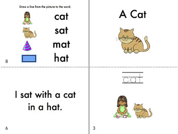Short A Word Family Fluency Bundle